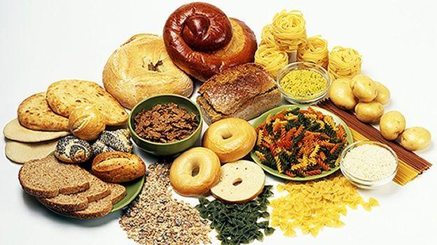 Carbohidratos ejemplos de alimentos