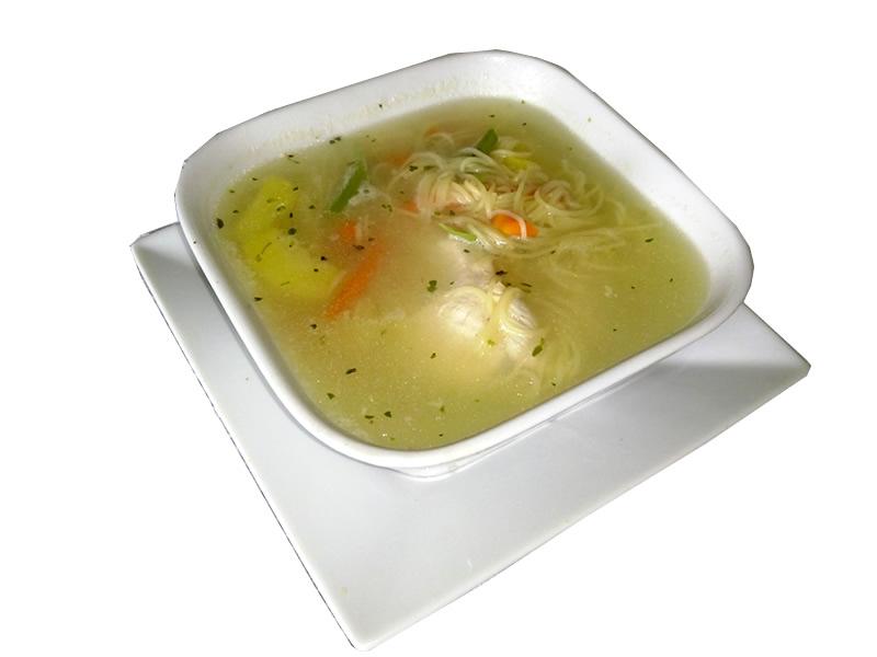 Sopa de Pollo Simple
