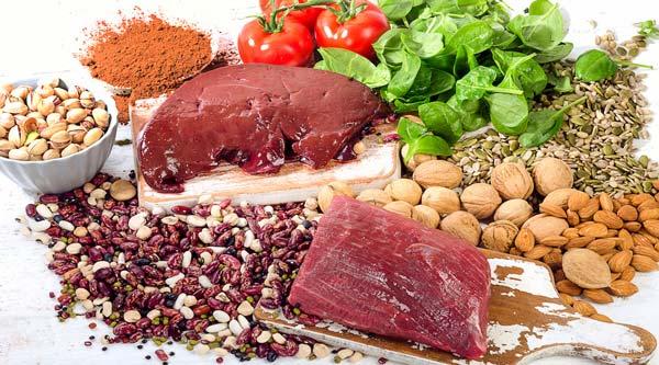 10 ejemplos de alimentos ricos en hierro - Alimentos que contengan hierro para embarazadas ...